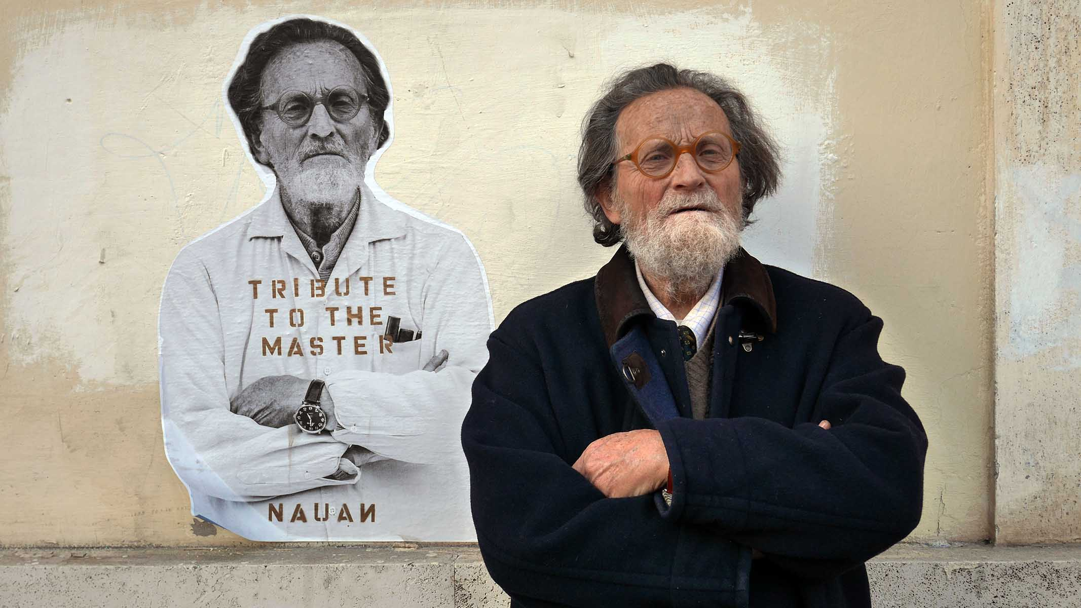 Tribute to the Master Fausto Delle Chiaie<br />by Nauan, and photo by Ribes Sappa<br /><br /><br />&nbsp;